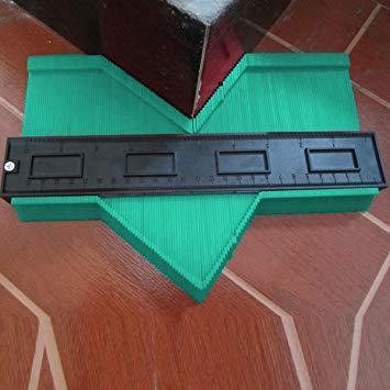 25cmグリーンを広げる 輪郭ゲージ 型取りゲージ コンターゲージ 測定ゲージ DIY複製用 プロフィイルゲージ 不規則測定器_画像9
