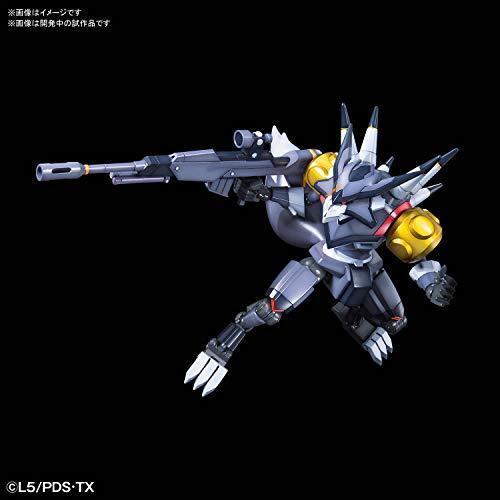 LBX ダンボール戦機 ハンター 1/1スケール 色分け済みプラモデル_画像2
