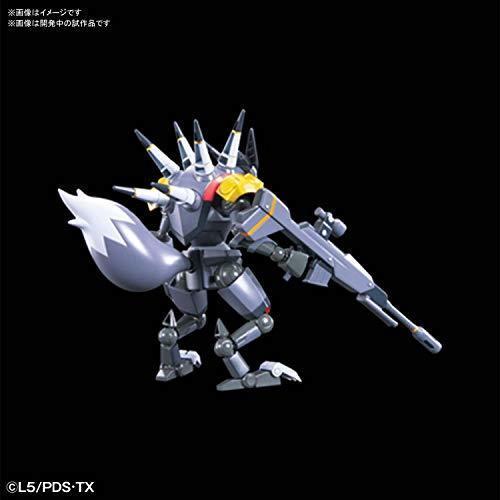 LBX ダンボール戦機 ハンター 1/1スケール 色分け済みプラモデル_画像4