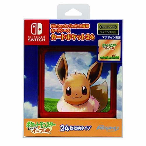 イーブイ Nintendo Switch専用カードポケット24 ポケットモンスター Let's Go! イーブイ_画像1
