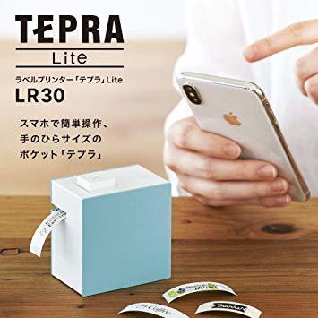 白 キングジム ラベルプリンタ- スマホ専用 「テプラ」Lite 白 LR30シロ_画像2