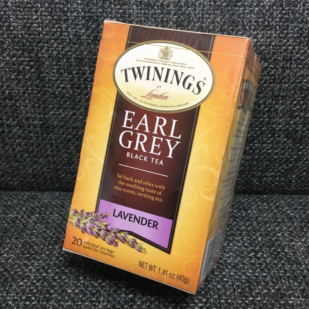 TWININGS トワイニング ★ アールグレイ ラベンダー★紅茶