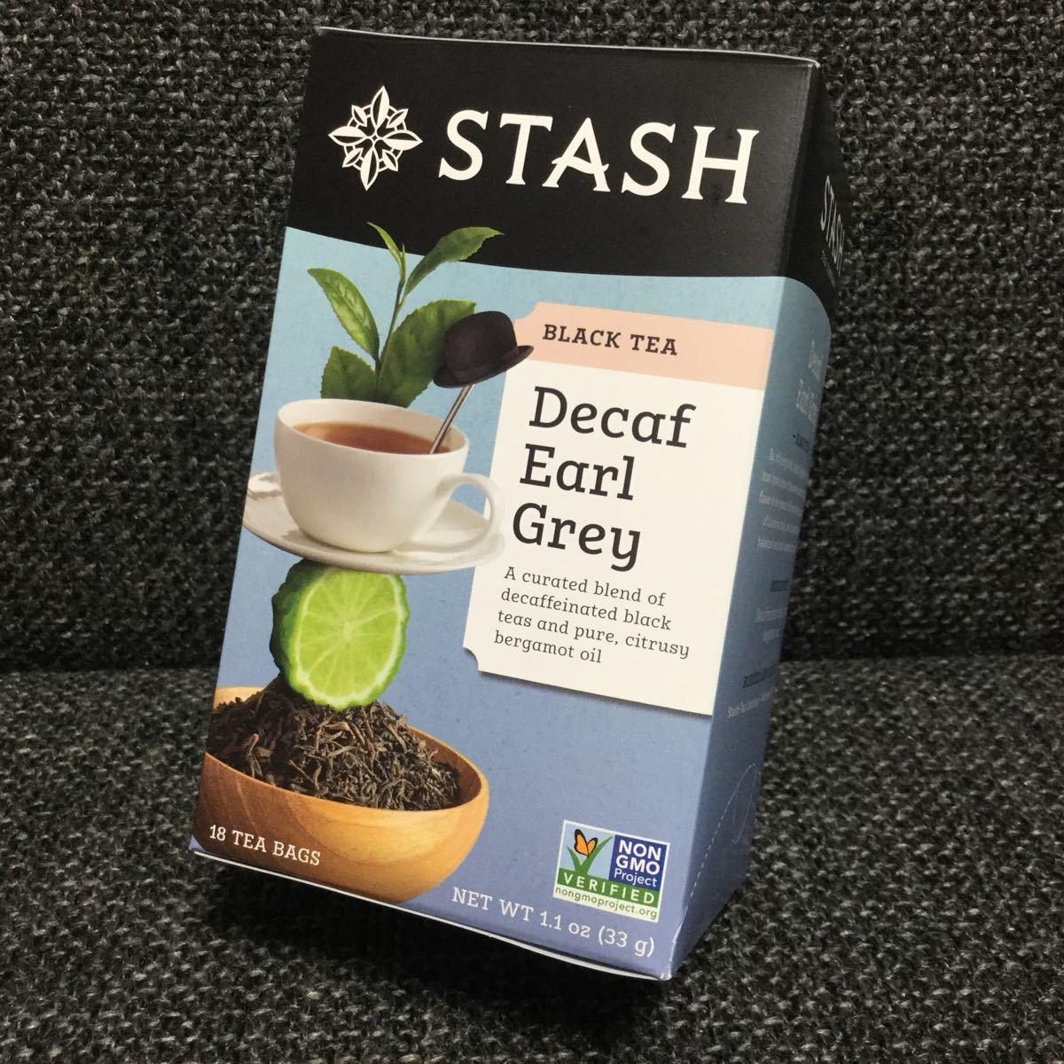 STASH スタッシュ★デカフェ アールグレイ★紅茶