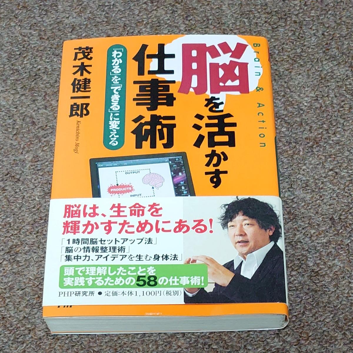 脳を活かす仕事術 茂木健一郎