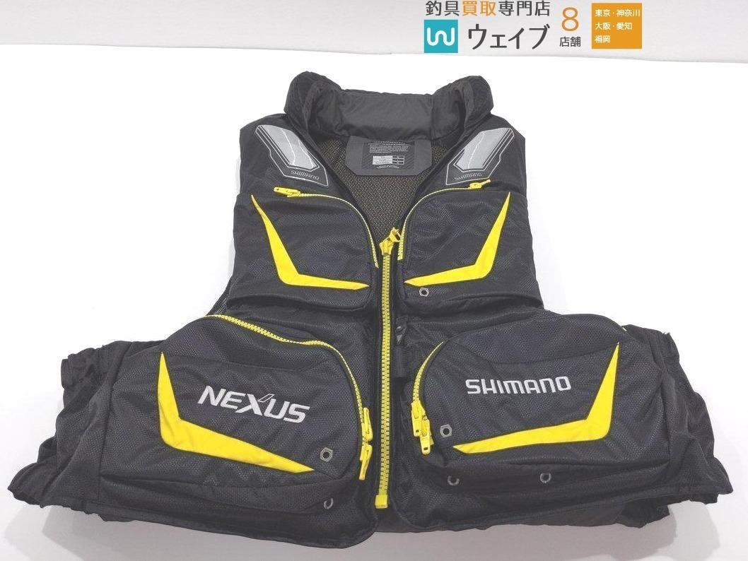 シマノ ネクサス ゲームベスト VF-131M 美品_140F165318 (1).JPG