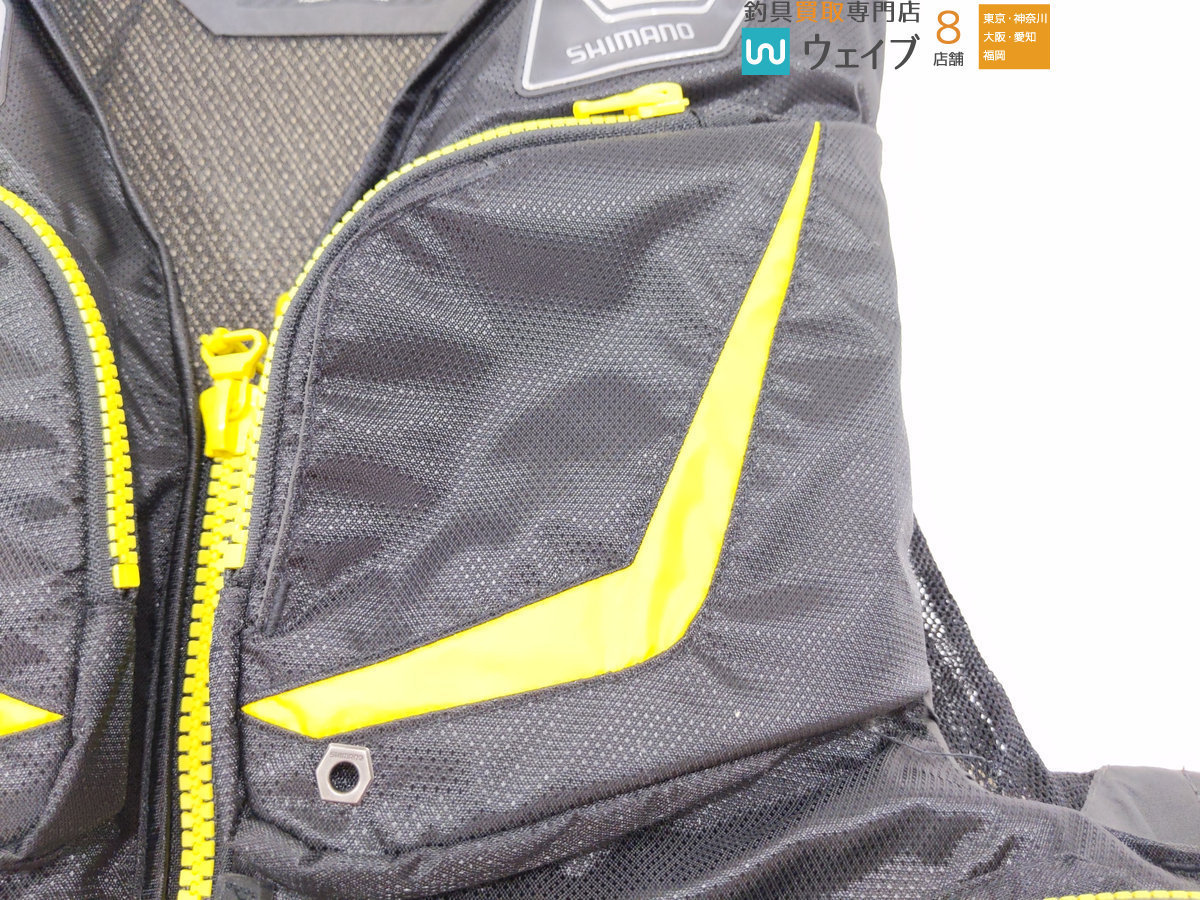 シマノ ネクサス ゲームベスト VF-131M 美品_140F165318 (8).JPG