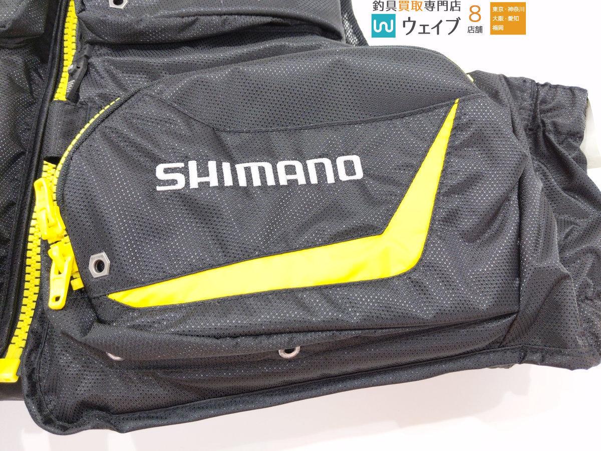 シマノ ネクサス ゲームベスト VF-131M 美品_140F165318 (10).JPG