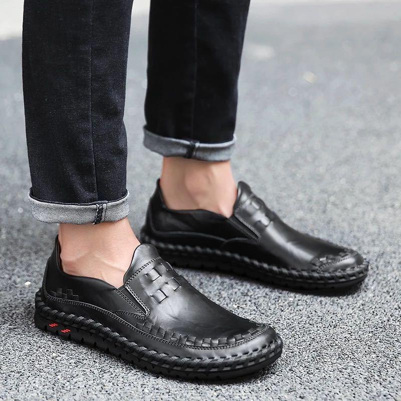 ローファー 新品 スリッポン ローカット カジュアル 紳士靴 ドライビングシューズ 快適 軽量 メンズ/b_画像5