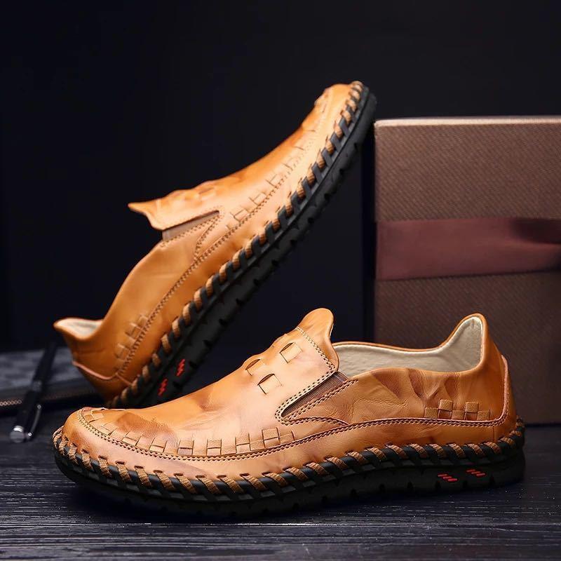 ローファー 新品 スリッポン ローカット カジュアル 紳士靴 ドライビングシューズ 快適 軽量 メンズ/b_画像1
