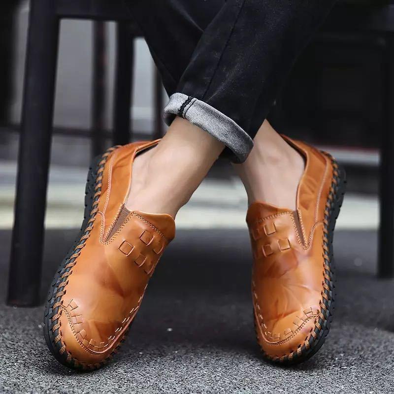 ローファー 新品 スリッポン ローカット カジュアル 紳士靴 ドライビングシューズ 快適 軽量 メンズ/b_画像3