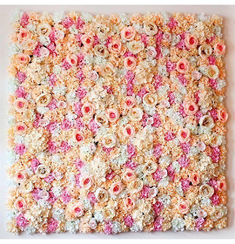 結婚式 ウェディングに!!装飾 壁 花を敷き詰める ブーケ 飾り バラ パーティー 造花 インテリア アレンジメント_画像4