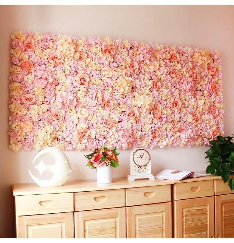 結婚式 ウェディングに!!装飾 壁 花を敷き詰める ブーケ 飾り バラ パーティー 造花 インテリア アレンジメント_画像1