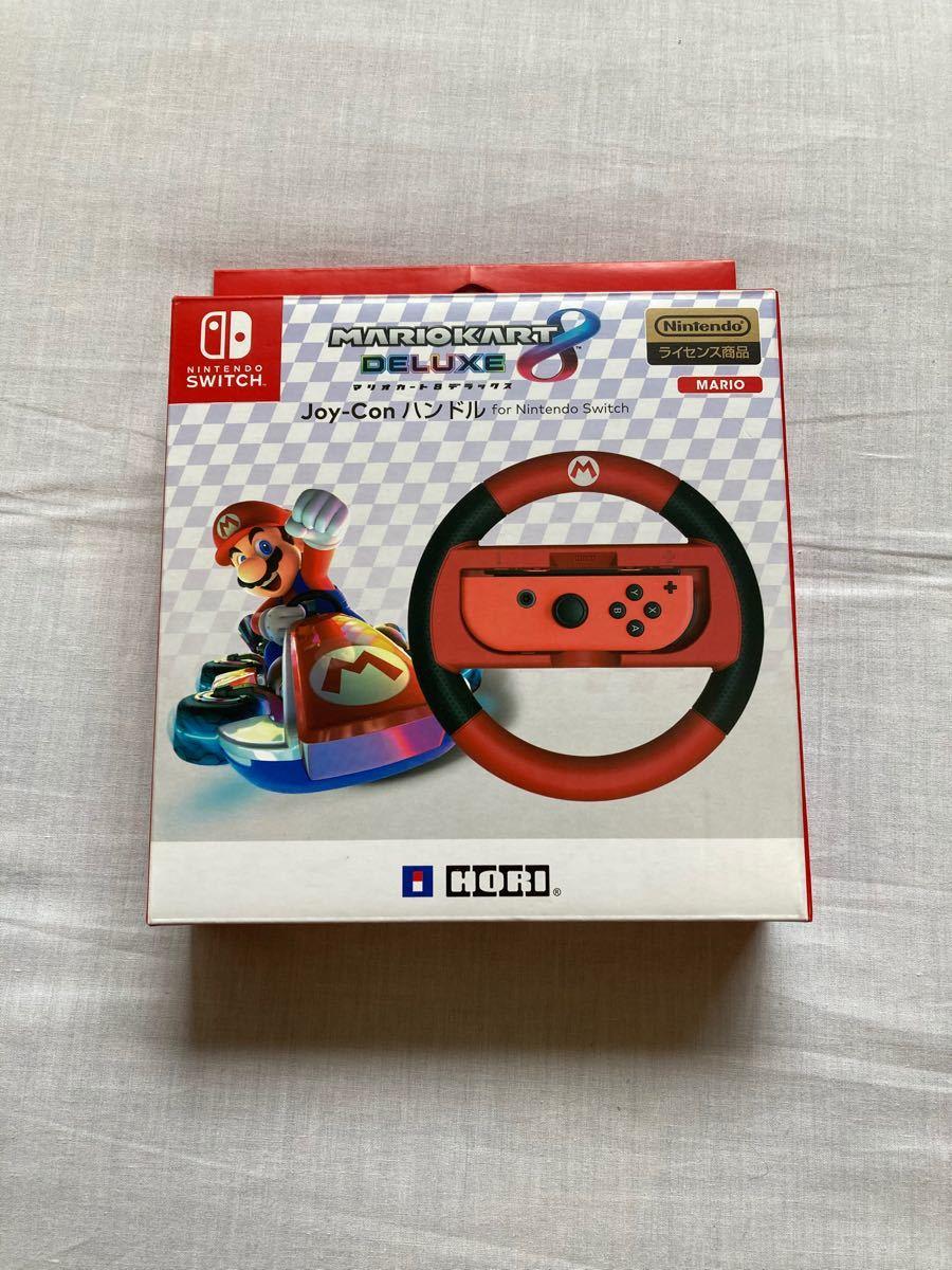 Nintendo Switch マリオカート8デラックス 専用コントローラー マリオ HORI Joy-Conハンドル 任天堂