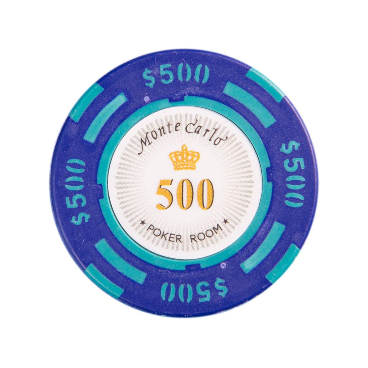 ★送料無料★ポーカーチップ 500$ 25枚セット_画像1
