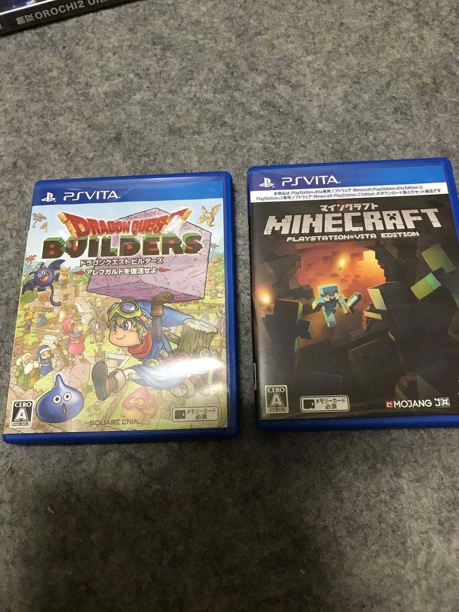 PS Vita ドラゴンクエストビルダーズアレフガルドを復活せよ& マインクラフトセット
