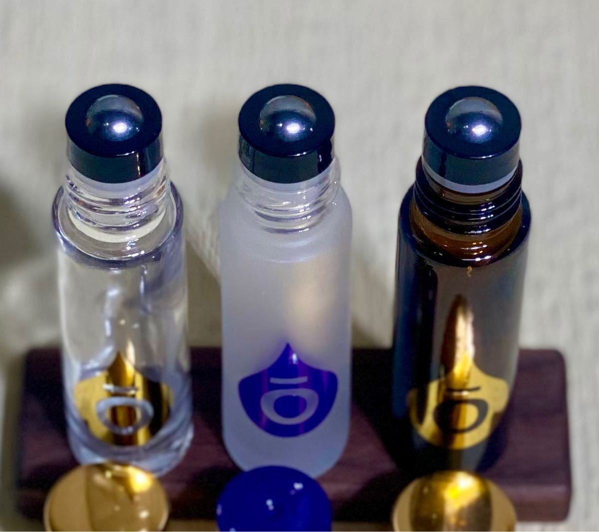 【新品未使用】ドテラ ロゴ入り ロールオンボトル 10ml 3本セット doTERRA