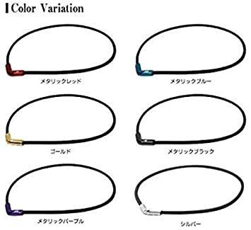 ●□▼ゴールド 50cm ファイテン(phiten) ネックレス RAKUWAネックX50 Vタイプ_画像4