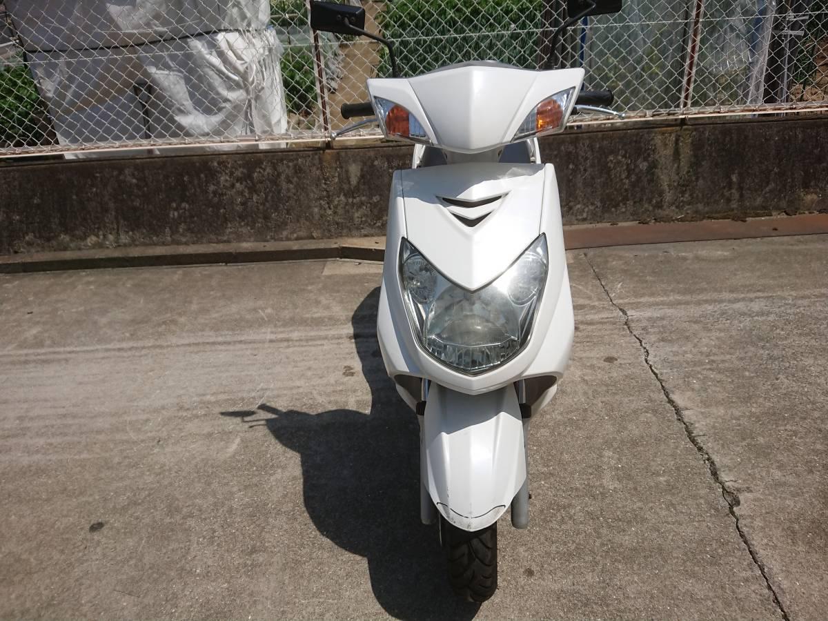 「シグナス125X  SE44J  ホワイト」の画像2