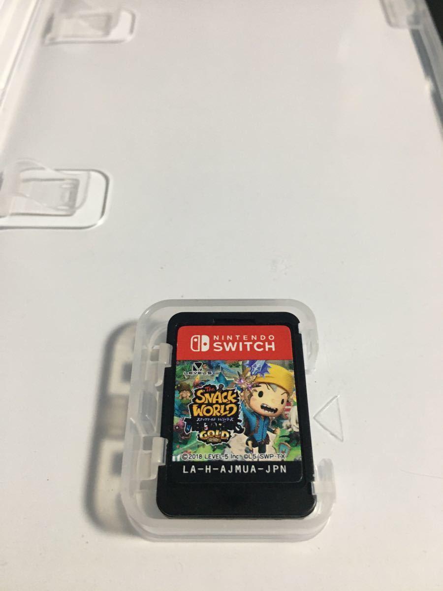 【 Switch 4本セット】 カプコン ベルトアクション & ゼルダ 無双 & ビリオンロード & スナック ワールド ソフト