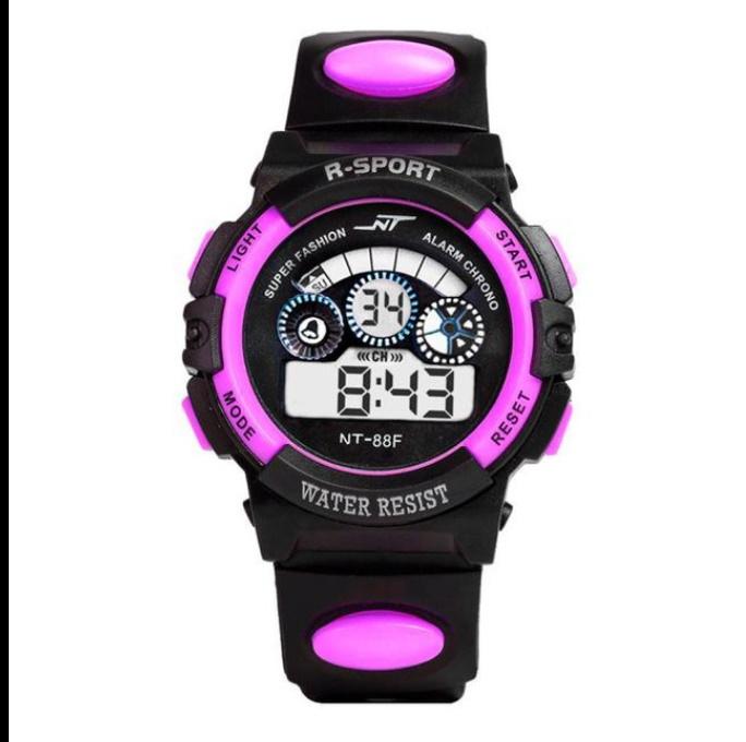 防水メンズ腕時計 デジタルled表示アラーム日付スポーツシリコーン腕時計 男性スポーツ腕時計_画像7