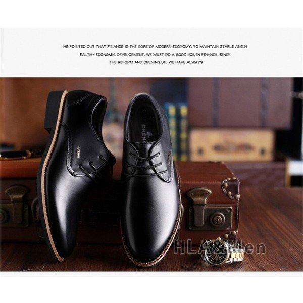 メンズ ビジネスシューズ 革靴 紳士靴 人気新作 ビジネスシューズ メンズ ストレートチップ PU革靴 歩きやすい 紳士靴 防水 外羽根 おし
