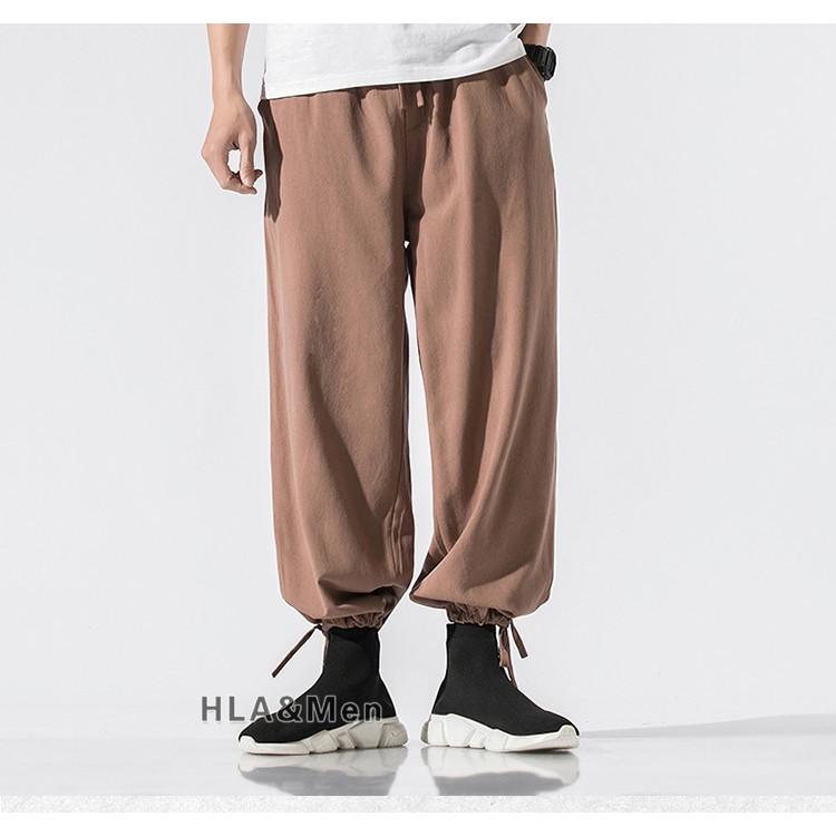 ワイドパンツ メンズ サルエルパンツ 無地パンツ リネンパンツ ワイドパンツ メンズ サルエルパンツ 無地パンツ 麻パンツ ボトムス 春