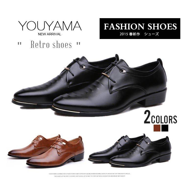 シューズ メンズ ビジネスシューズ メンズ シューズ メンズ メンズ靴 送料無料 カジュアルシューズ メンズ 通勤 レザー 紳士靴 メンズフ