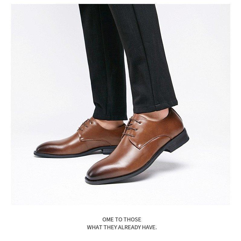 ビジネス シューズ 紳士靴 革靴 合成牛革 プレーントゥ 【靴べら1本おまけ~】プレーントゥ ビジネスシューズ 本革 メンズ 革靴 メンズ