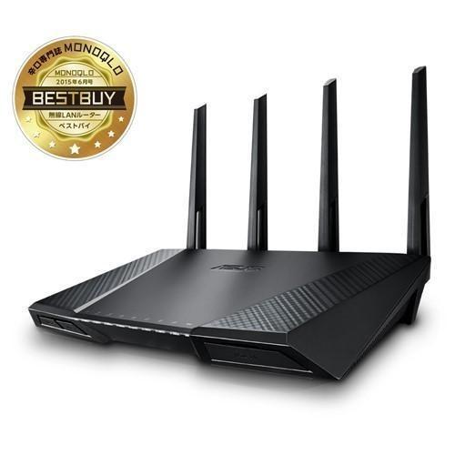 ASUS RT-AC87U デュアルバンドWi-Fiギガビットルーター  ASUS Wi-Fi 無線LANルーター