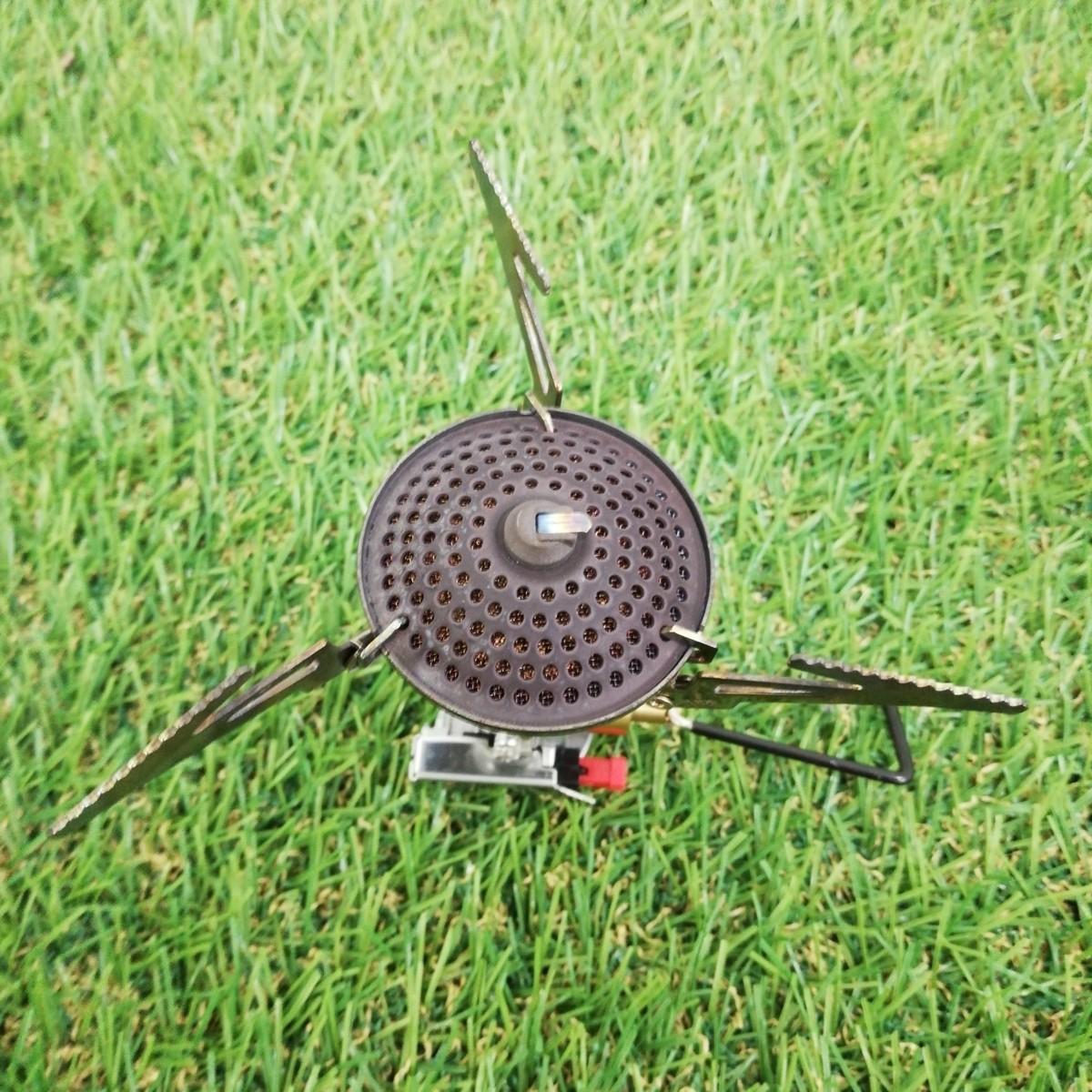 【中古】SOTO ソト マイクロレギュレーターストーブ SOD-300S【Sx】 キャンプ 調理 ソロ シングルバーナー アウトドア キャンプ_画像5