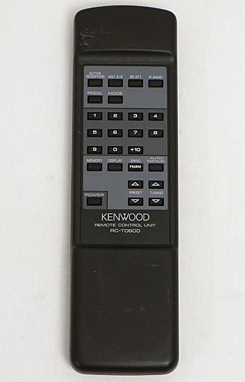 【中古】KENWOOD オーディオ用リモコン RC-T0600_画像1