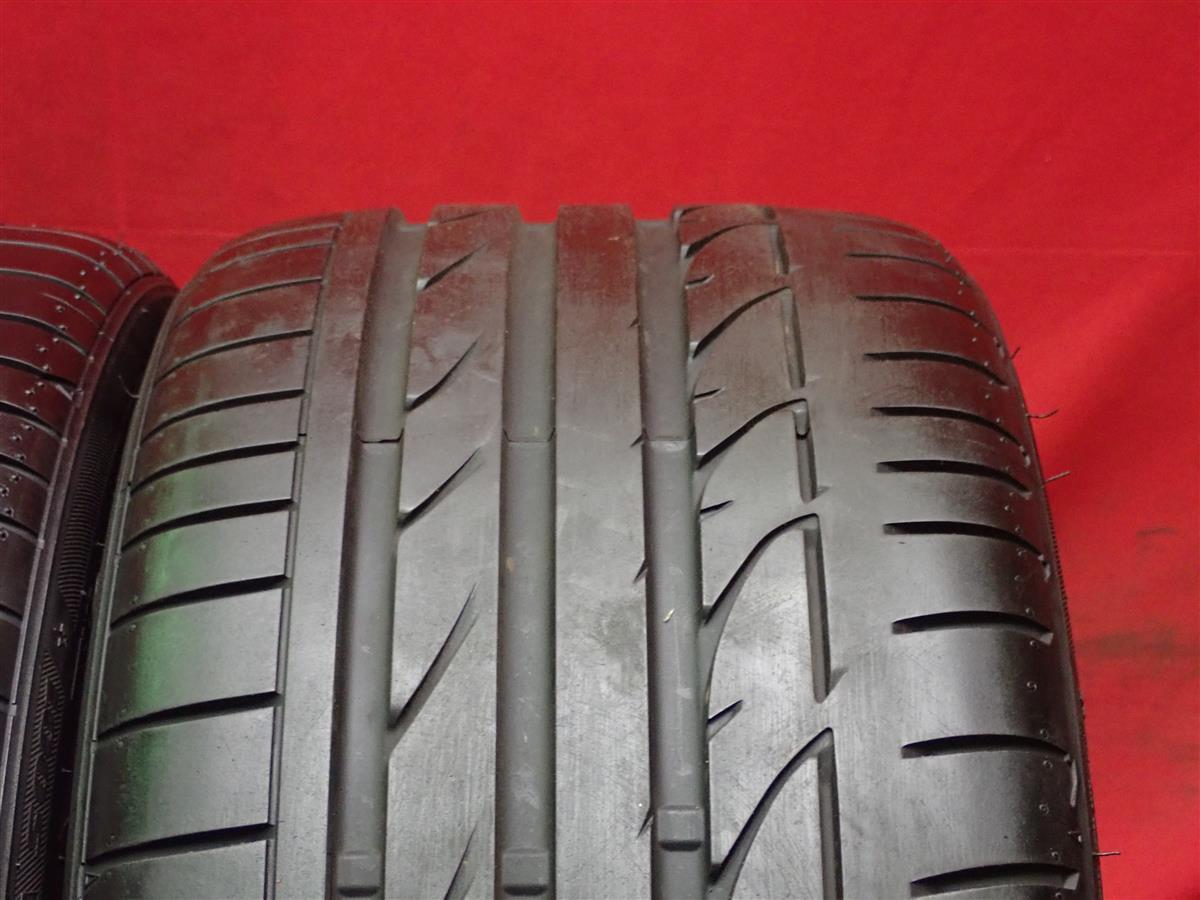 2本 《 ブリヂストン 》 ポテンザS001 [ 255/35R19 ]9分山★ BMW3シリーズ ランフラットタイヤ n18_画像8