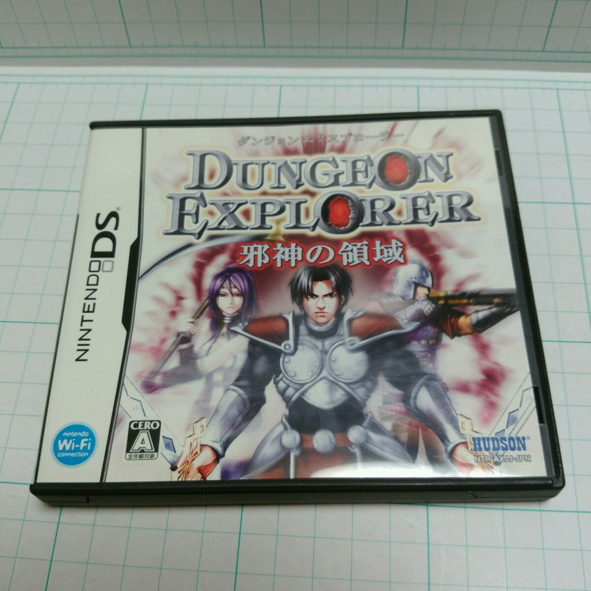 ダンジョンエクスプローラー 邪神の領域 DSソフト