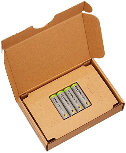 高容量単3形4個パック Amazonベーシック 充電池 高容量充電式ニッケル水素電池単3形4個セット (充電済み、最小容量 24_画像4