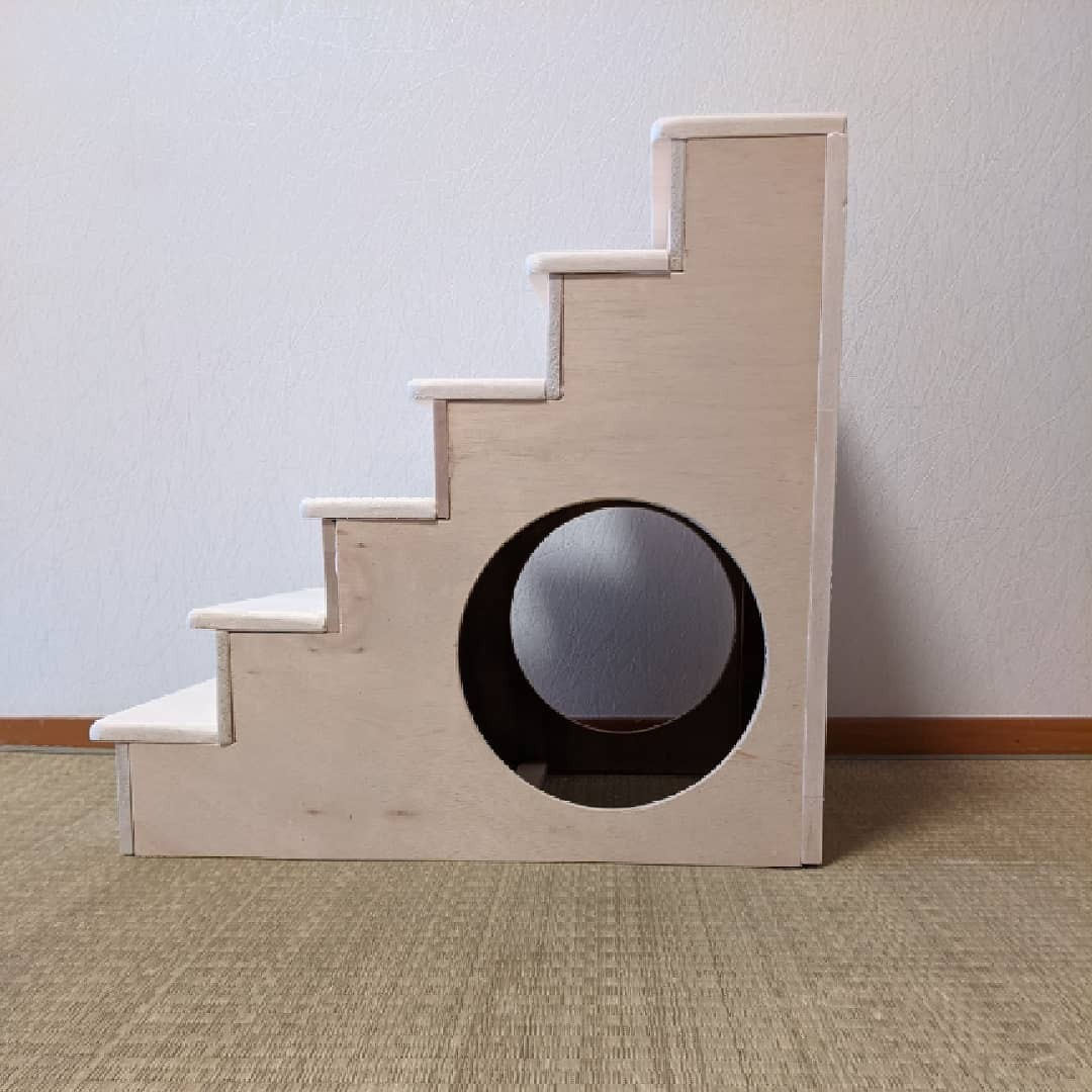 【猫カフェが作る】キャットタワー猫階段