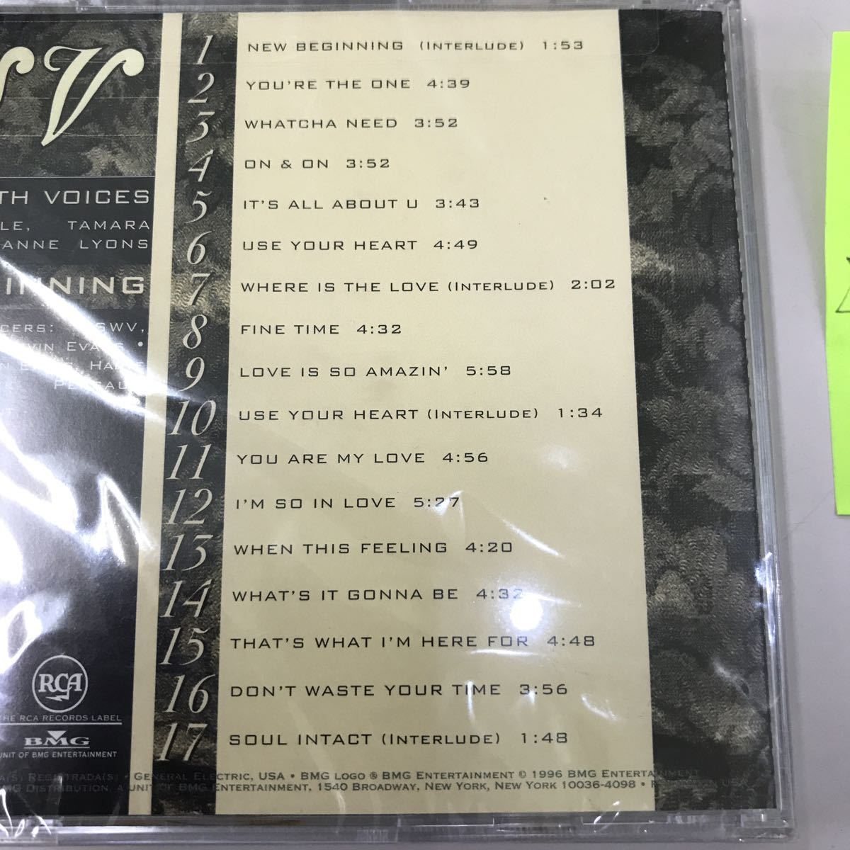 CD 輸入盤未開封【洋楽】長期保存品 SWV