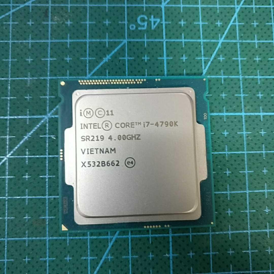 ☆ジャンク品☆Intel PC プロセッサー Core i7 4790k LGA1150 インテル CPU ☆