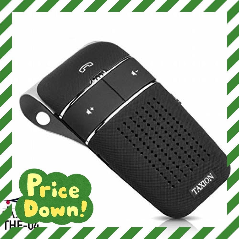 黒 車載 ワイヤレススピーカー【TAXION】 業務用対応 プロ仕様 Bluetooth 4.1 日本語アナウンス エアコン吹き_画像1