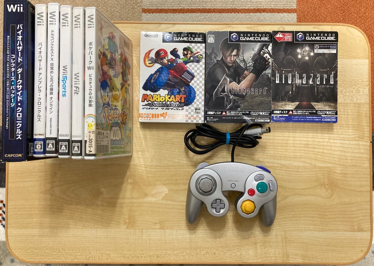 Wii本体 1式セット ソフト9本付き!