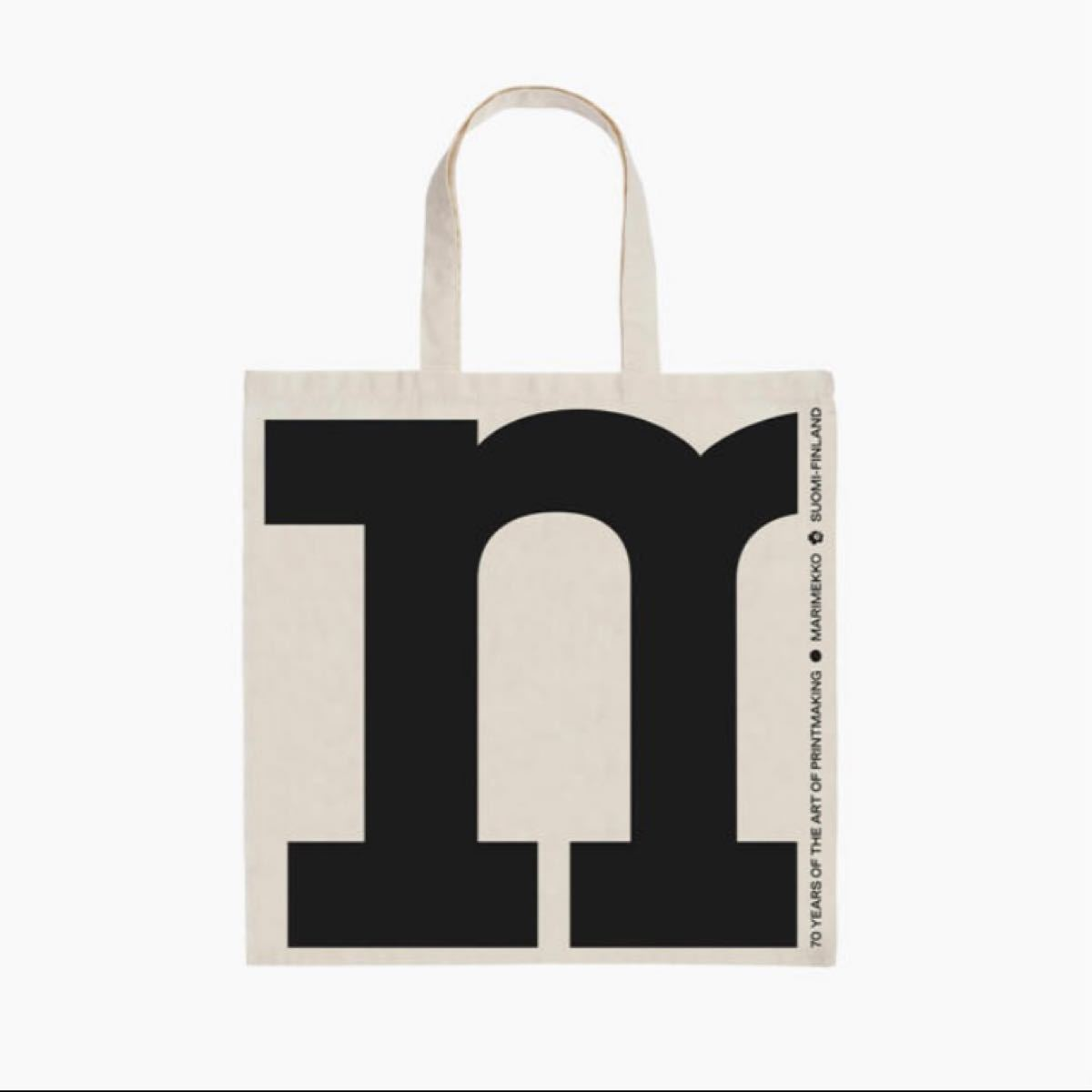 マリメッコ marimekko 70周年限定 トートバッグ