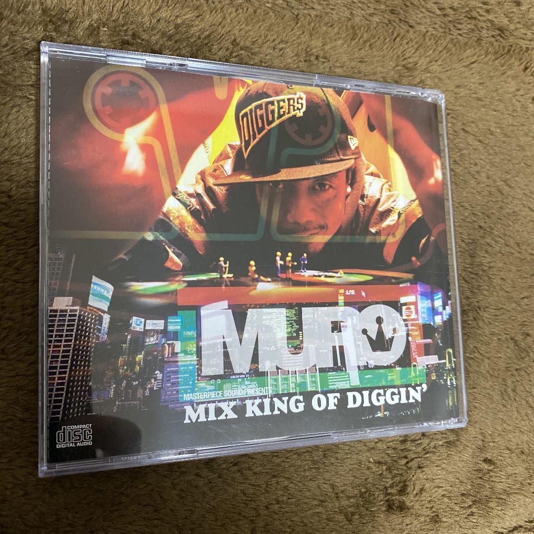【DJ MURO】MIX KING OF DIGGIN'【RON G】【廃盤】【MIX CD】【豪華2枚組】【送料無料】