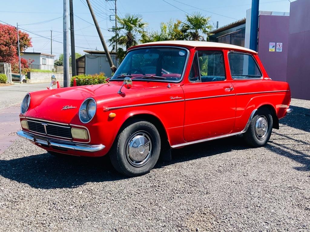 「昭和43年 パブリカ UP20 4MT 好調 旧車 クラシックカー」の画像2