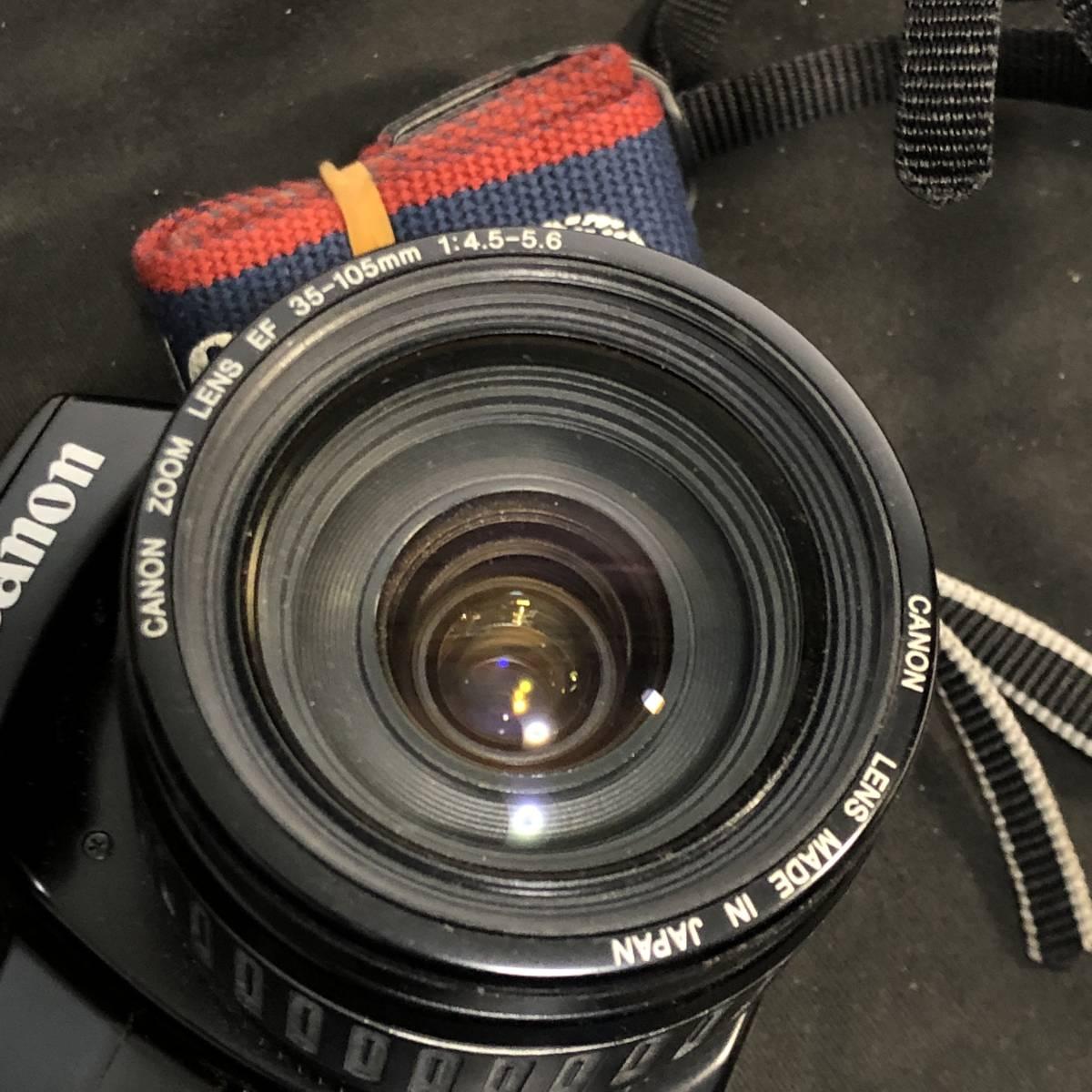Canon EOS 4台+レンズ3本 動作未確認_画像6