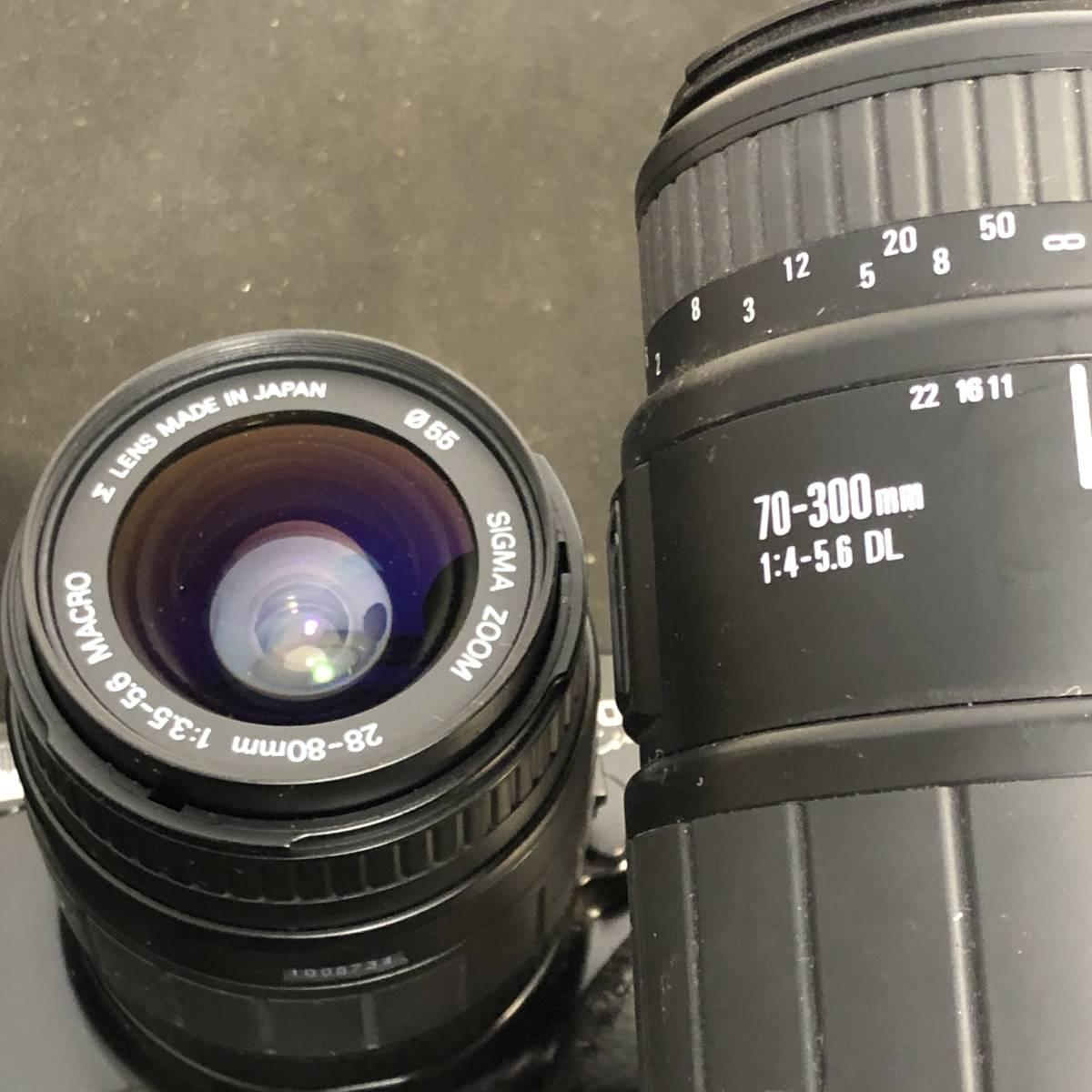 Canon EOS 4台+レンズ3本 動作未確認_画像7