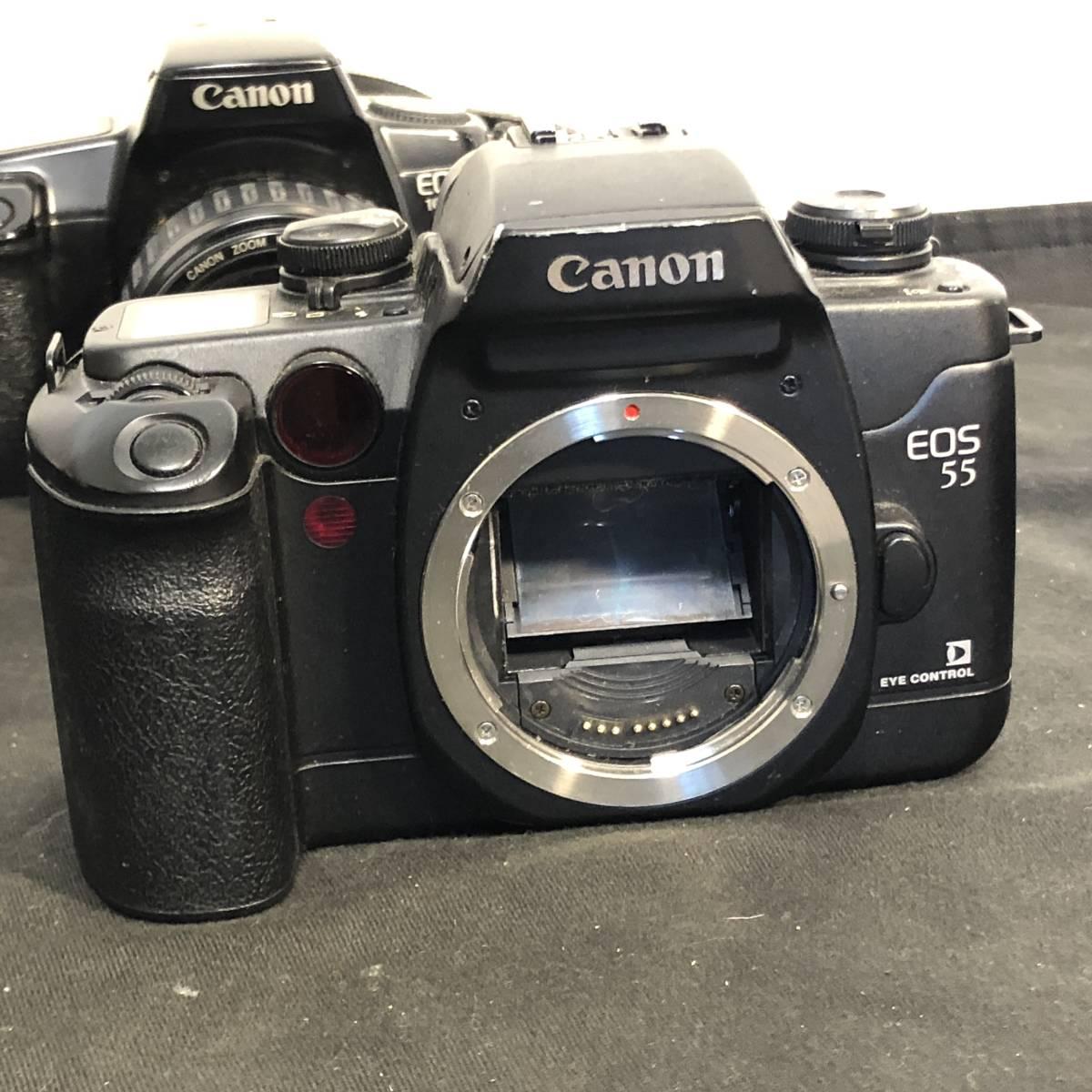 Canon EOS 4台+レンズ3本 動作未確認_画像2