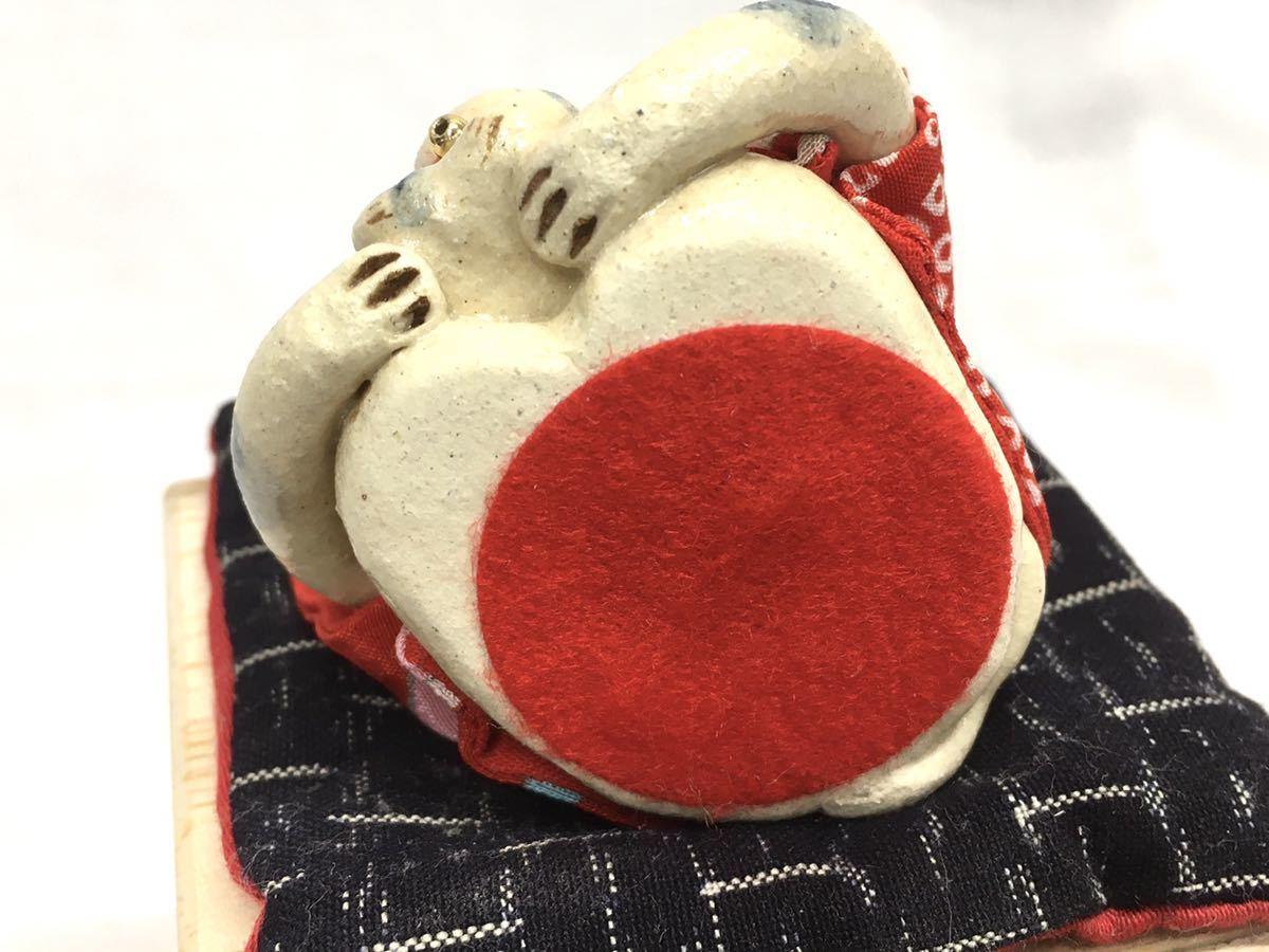 □ かわいい親子ねこ【福ねこ】笑門来福・招福開運・陶器・焼き物・置物・岩月珠恵_画像6