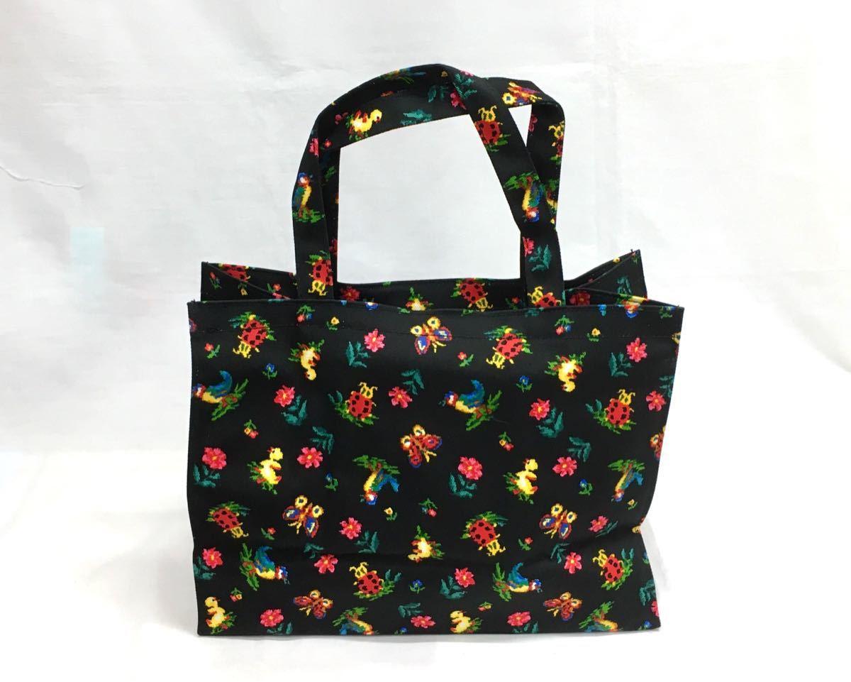 □ 未使用品【フェイラー】トートバッグ+ブック・布製・花柄・ランチバッグ・エコバッグ_画像4