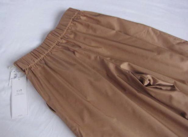 ◆23区 新品 小さい ワイドパンツ ガウチョパンツ スカーチョ_画像4