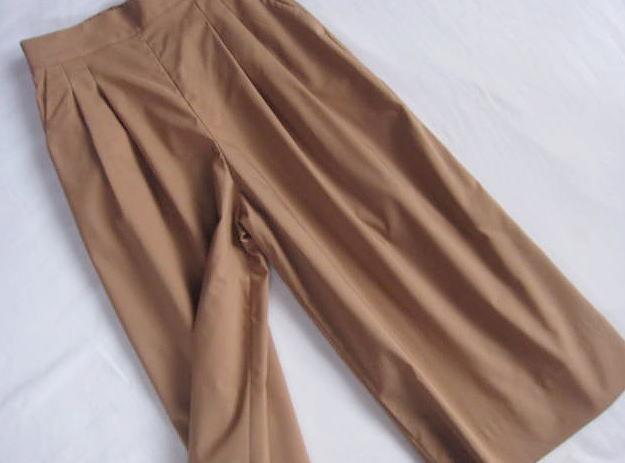 ◆23区 新品 小さい ワイドパンツ ガウチョパンツ スカーチョ_画像3
