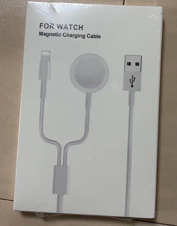 Apple watch 充電器 ワイヤレス 2in1 アップルウォッチ充電器 アップルウォッチ 1.5m 安全性 磁気充電ドック Apple Watch 全シリーズ対応_画像8